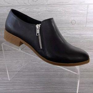 AE Women's Double Zip Black Shoe Bootie Size 9